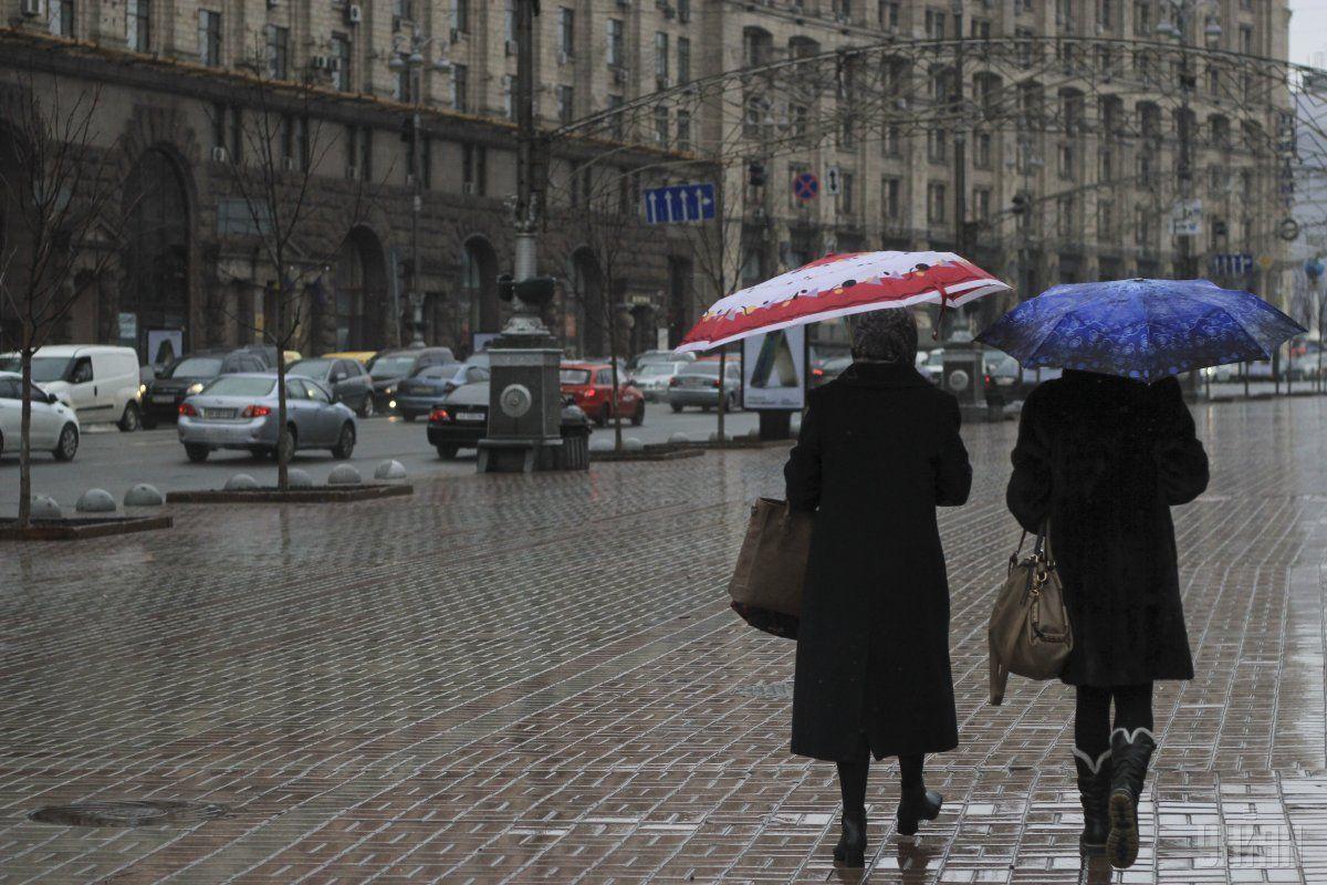 В Киеве сегодня ожидаются осадки / фото УНИАН