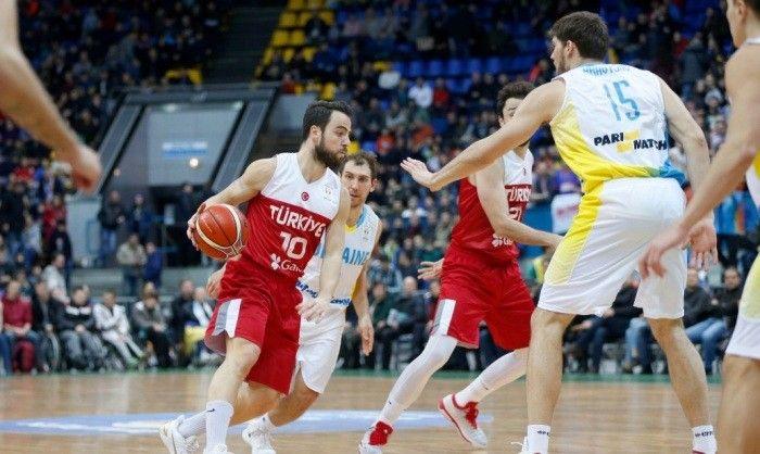 Украина - Турция / fiba.basketball