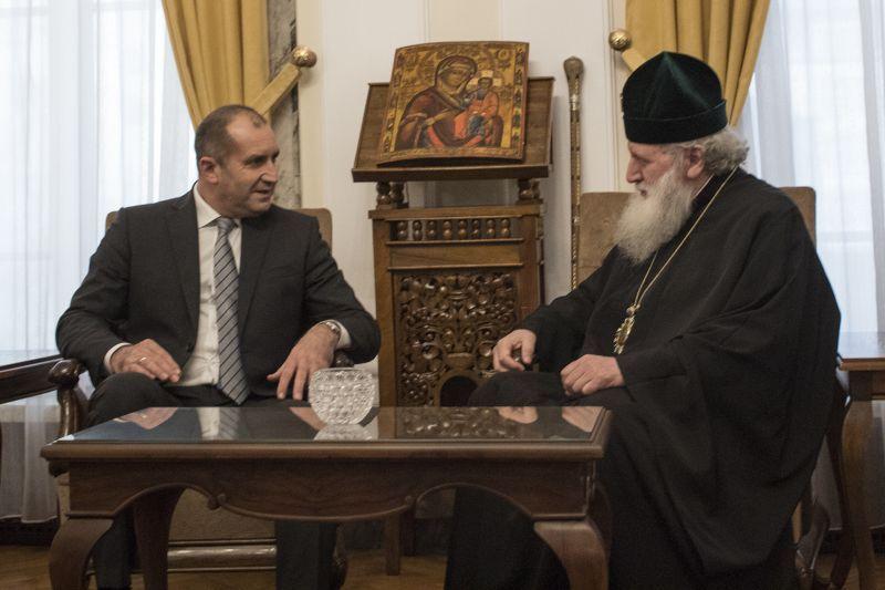 Патриарх Неофит и Президент Болгарии / bg-patriarshia.bg