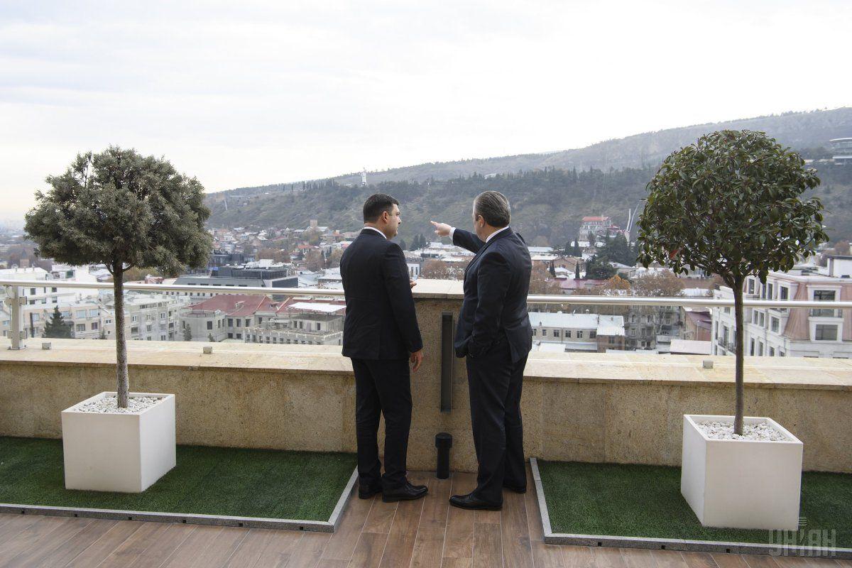 Гройсман начал официальный визит в Грузию / фото УНИАН