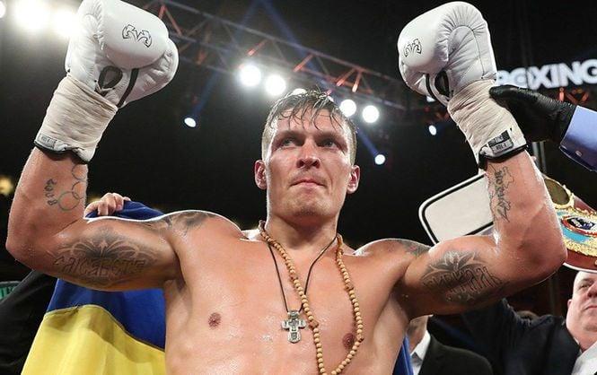 Бой Александра Усика состоится 27 января / Facebook