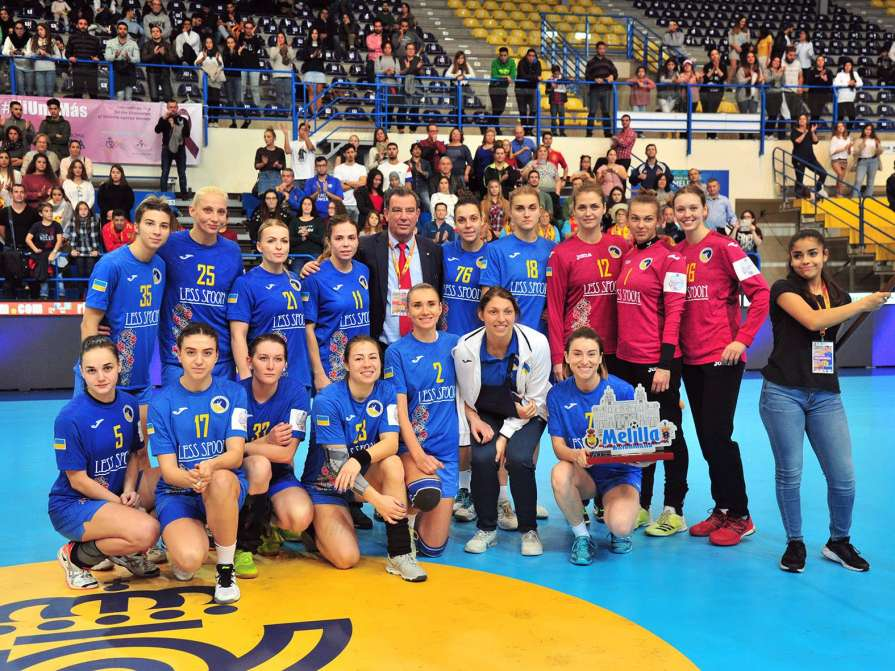 Женская сборная Украины по гандболу / rfebm.com