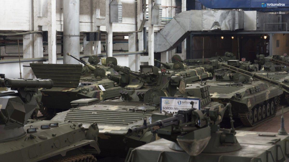 Вага БМП-1УМД становить 14 тонн / фото ukroboronprom.com.ua