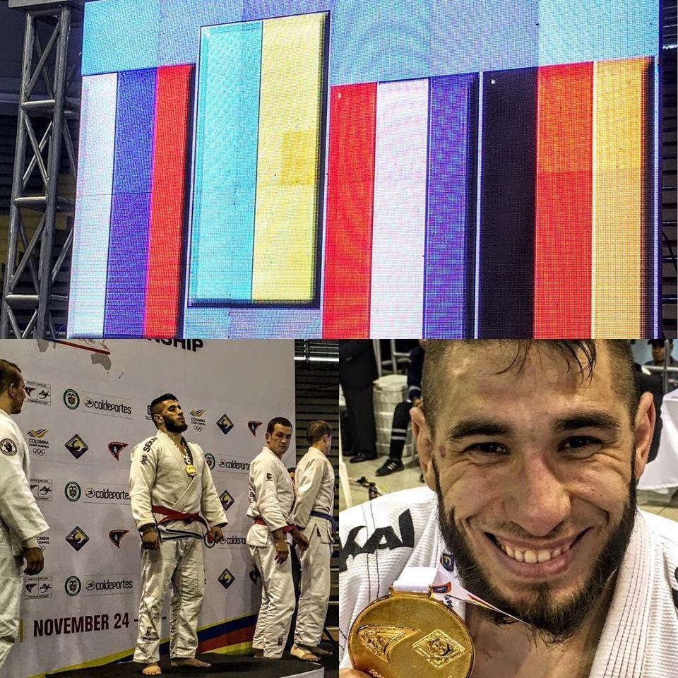 Украинец Иван Настенко стал чемпионом мира по джиу-джитсу / facebook.com