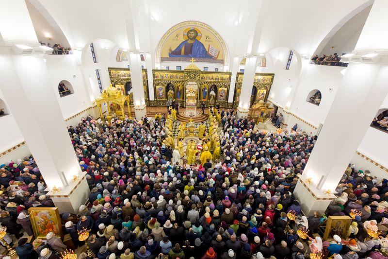 Освящение кафедрального собора в честь Рождества Христова в городе Солигорск / sluck-eparchiya.by
