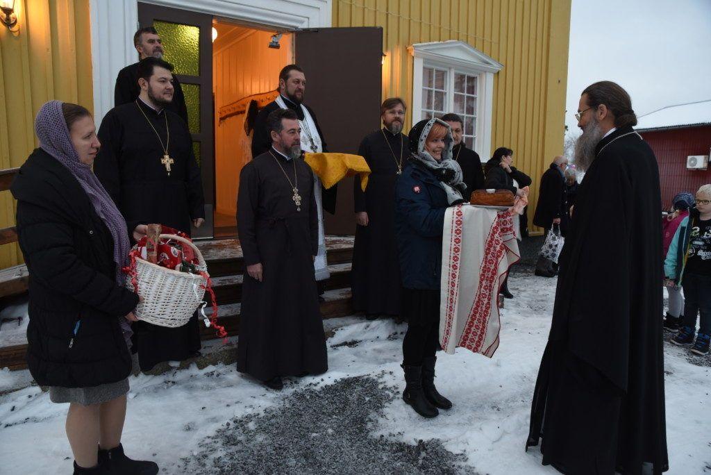 Митрополит УПЦ открыл новую православную приход в г. Буліден (Швеция) / news.church.ua
