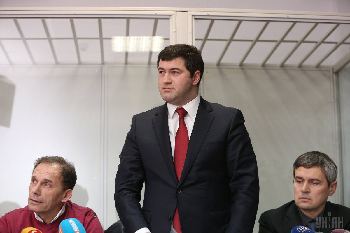 Roman Nasirov in the courtroom / Photo from UNIAN