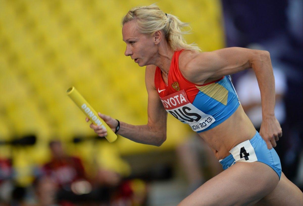 Срібна медаль росіянки Юлії Гущиной на Олімпійських іграх в Лондоні в бігу на 400 метрів анульована / Reuters