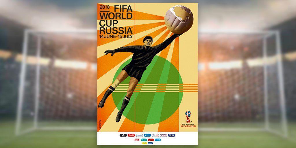 Представлений офіційний постер чемпіонату світу-2018 / твіттер ФІФА