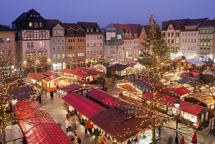 В Германии в преддверии Рождества с целью профилактики терактов устраивают специальные заграждения / Deutsch-Sprechen.ru