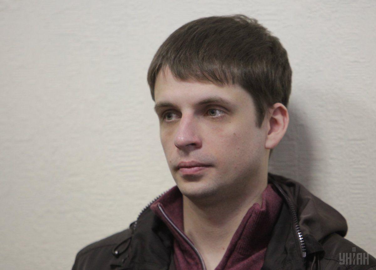 Подозреваемый в убийстве Бузины Андрей Медведько / фото УНИАН