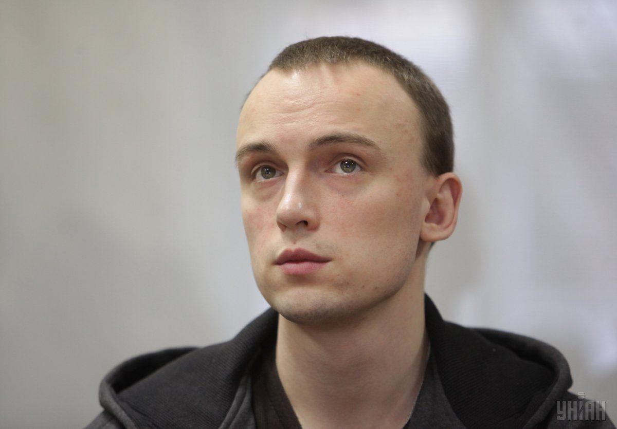 Подозреваемый в убийстве Бузины Денис Полищук / фото УНИАН