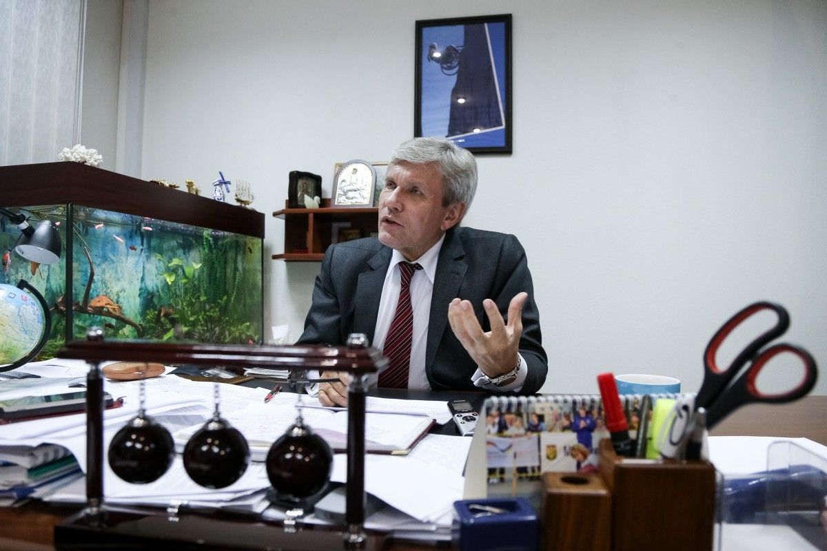 Уповноважений президента з прав людей з інвалідністю Валерій Сушкевич / Фото УНИАН