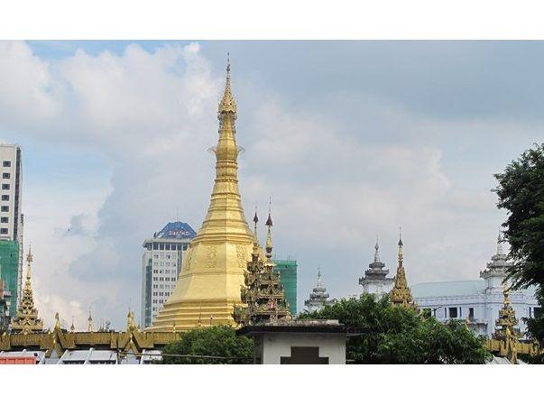 Вид на Янгон / AP
