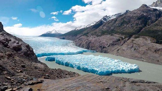 Ледник Грей является одним из самых больших в мире / фото instagram.com/patagonjournal