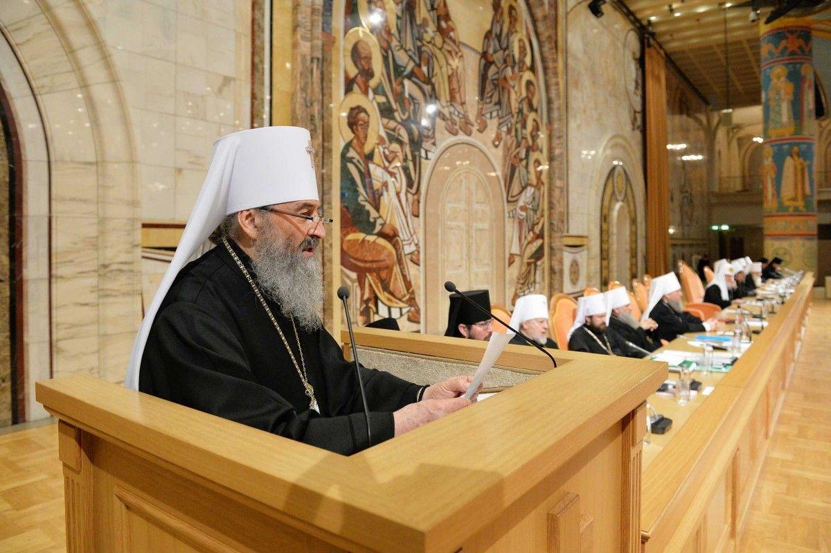 Предстоятель УПЦ / foto.patriarchia.ru