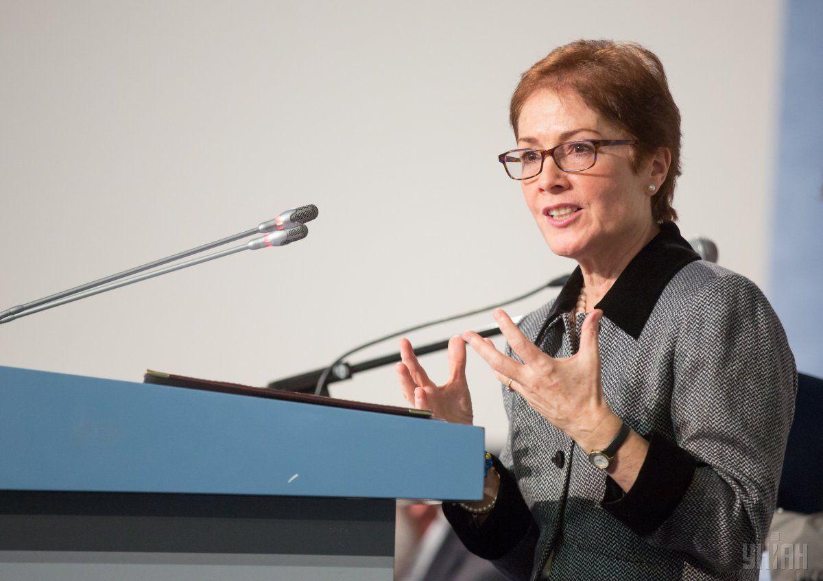 Ambassador Marie Yovanovitch / Photo from UNIAN