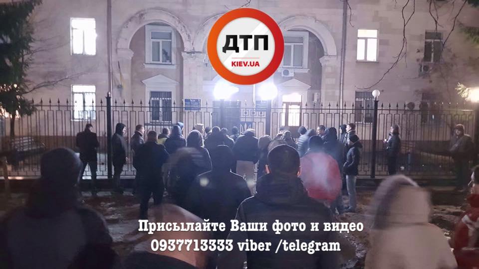 Водителей задержали за злостное неповиновение правоохранительным органам / фото facebook.com/dtp.kiev.ua