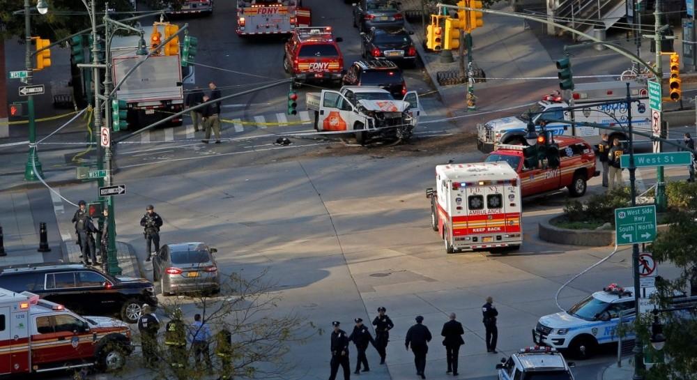 Внаслідок наїзду і стрілянини вНью-Йорку загинули 8 осіб