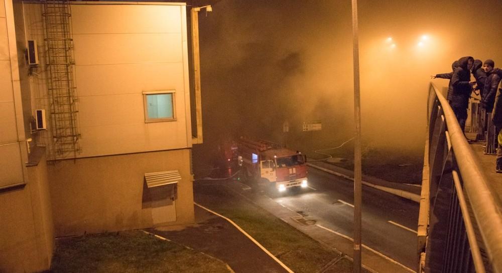УКиєві сталася пожежа упопулярному гіпермаркеті: з'явилися подробиці інциденту