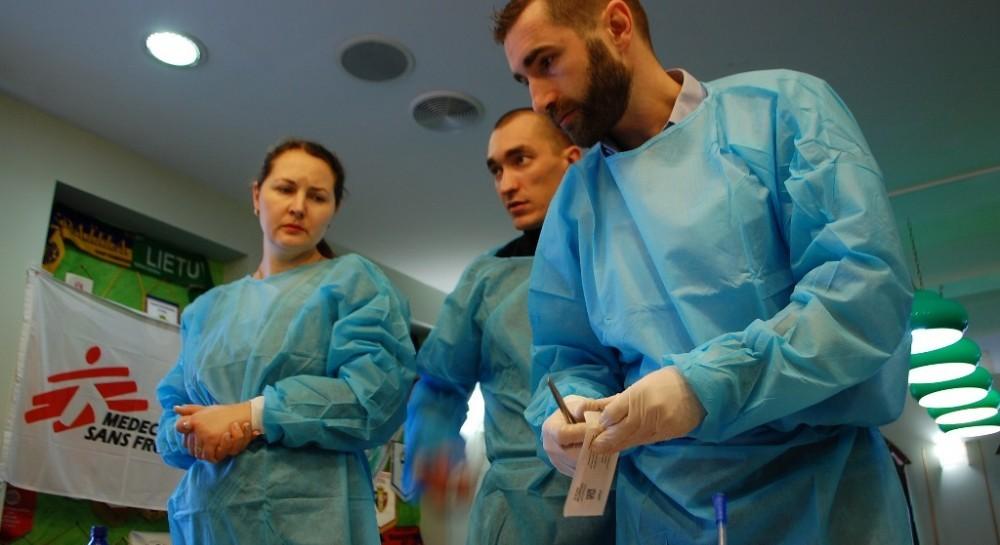 Медичні працівники на Донбасі пройдуть спеціальну підготовку з надання  екстреної медичної допомоги для порятунку якомога більшої кількості життів в  разі в ... 0fb561c32ca2a
