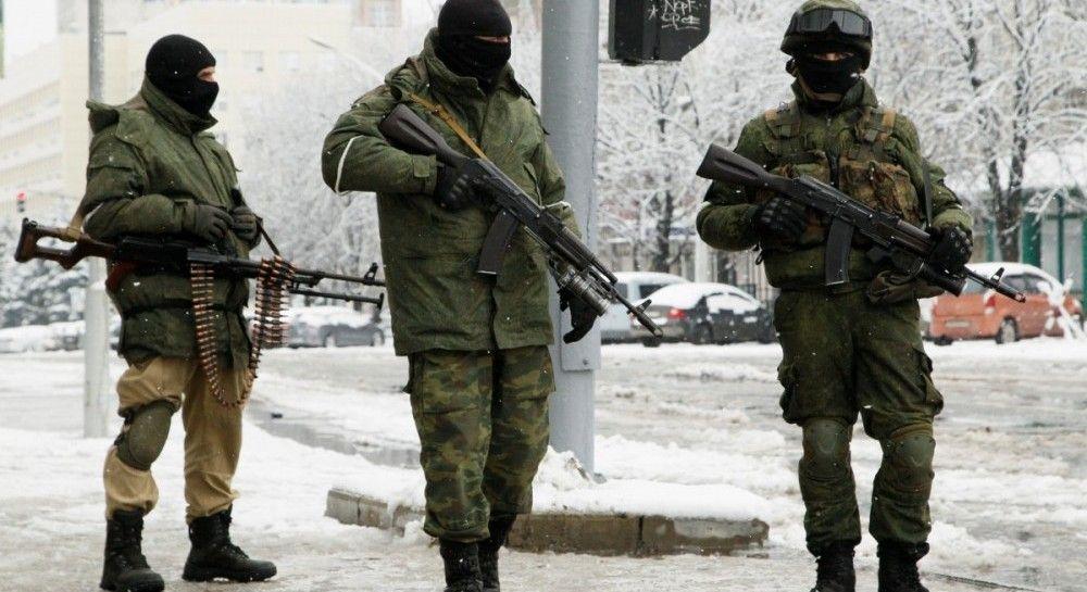 ВОБСЄ показали фото військової колони, яка йшла доЛуганська