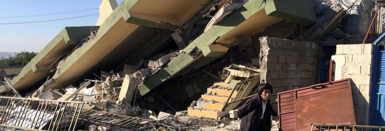 Мощное землетрясение повредило несколько памятников в Иране