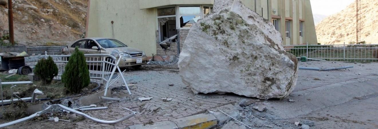 У постраждалих від землетрусу районах Ірану завершилися пошуково-рятувальні роботи
