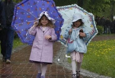 Сьогодні у більшості областей України пройдуть дощі з грозами, температура до +34° (карта)