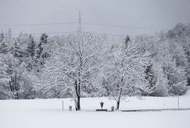 В Украине сегодня ожидаются морозы, на западе пройдет снег (карта)