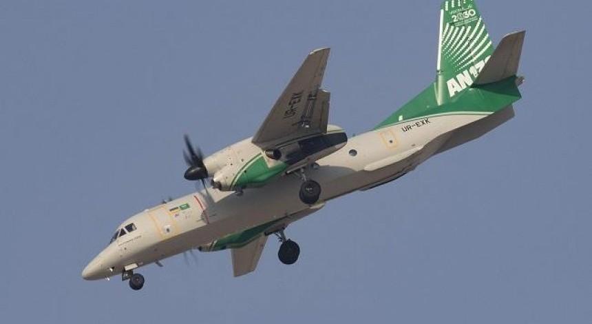 Ukranian-Saudi An-132 targets An-32 replacement for India air force (video)