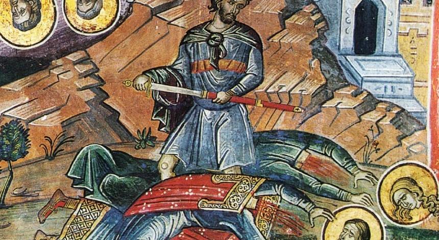18 листопада - день пам'яті святих мучеників Галактіона і Епистимії