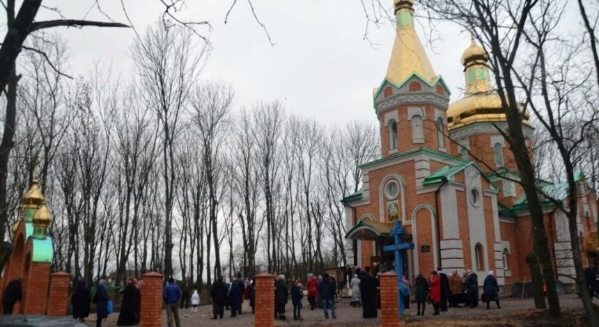 На Кировоградщине освятили новый храм, построенный на месте разрушенного при советской власти