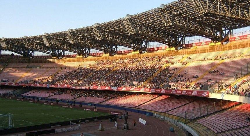 """""""Наполі"""" і """"Шахтар"""" проведуть матч на напівпорожньому стадіоні"""