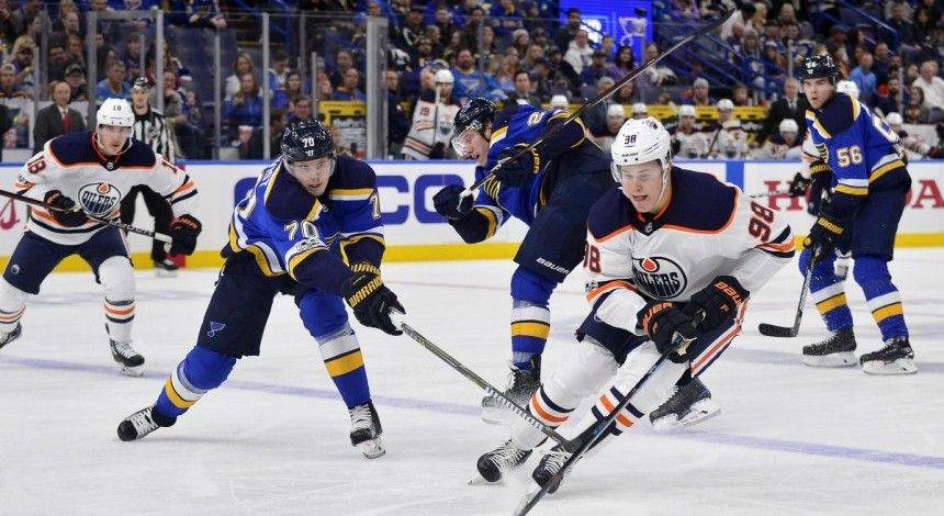 """""""Эдмонтон Ойлерз"""" потерпели пятое поражение в последних шести матчах НХЛ"""