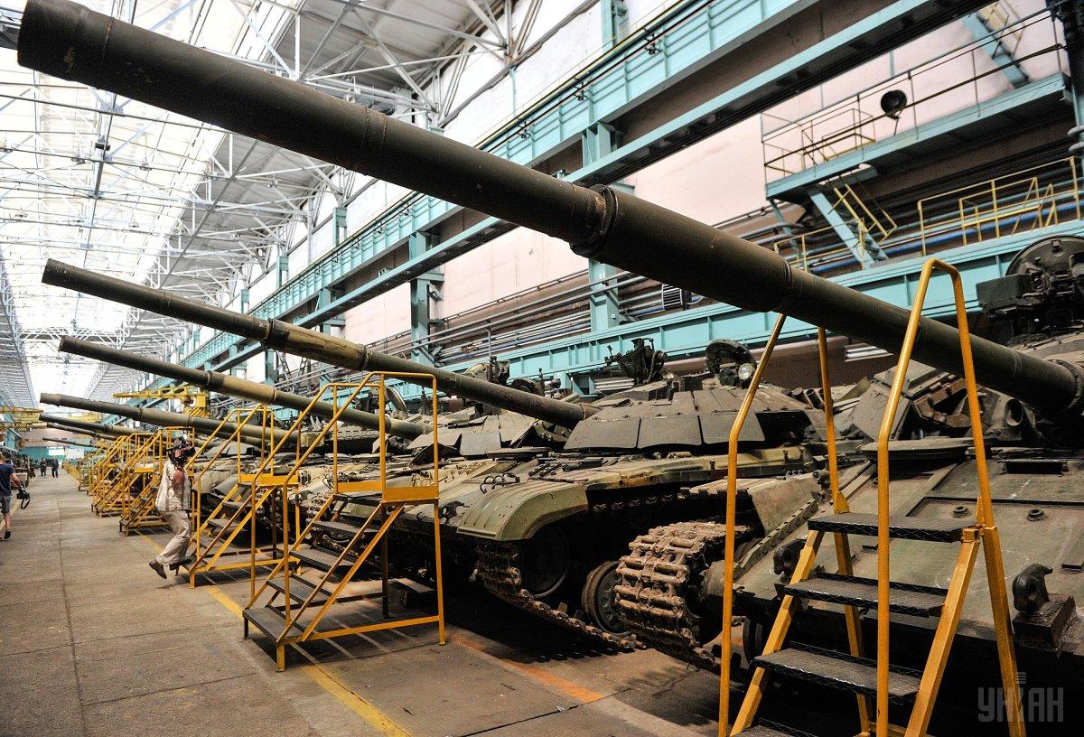 Больше всего от российской оккупации пострадала оборонная промышленность / фото УНИАН