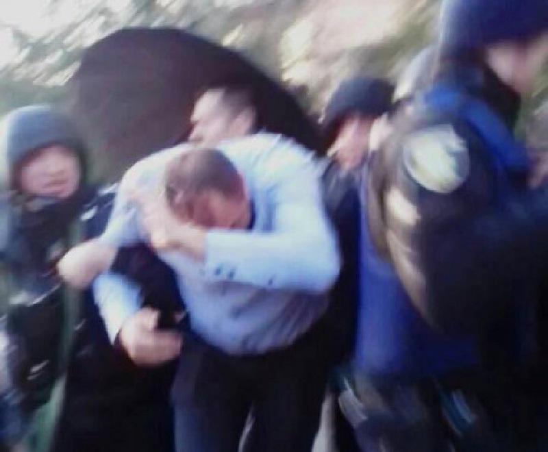 На Невінчанного напали после выступления / Фото из соцсетей