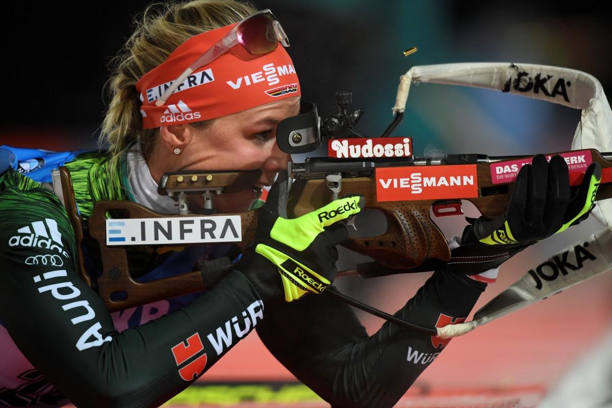 Деніз Херманн (Германия_ стала переможницею гонки переслідування / Reuters