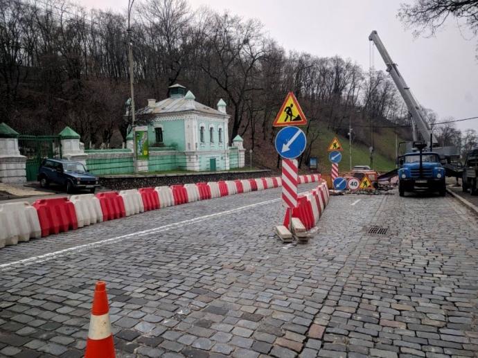 У Києві спуск з Хрещатика на Поділ перекриють до четверга \ фото прес-служба КМДА
