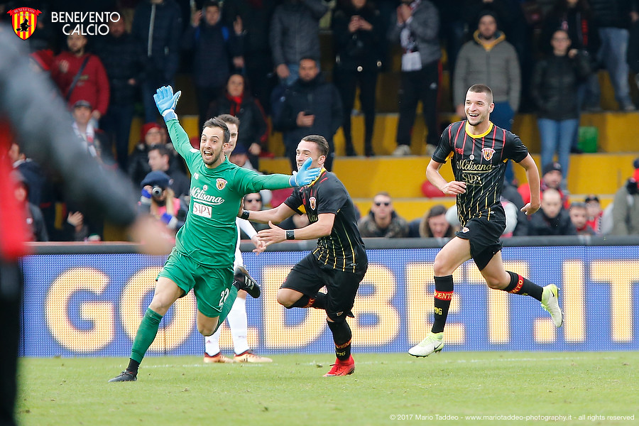 Гол Альберто Бриньоли - перший гол воротаря в Серії А за 16 років / beneventocalcio.club