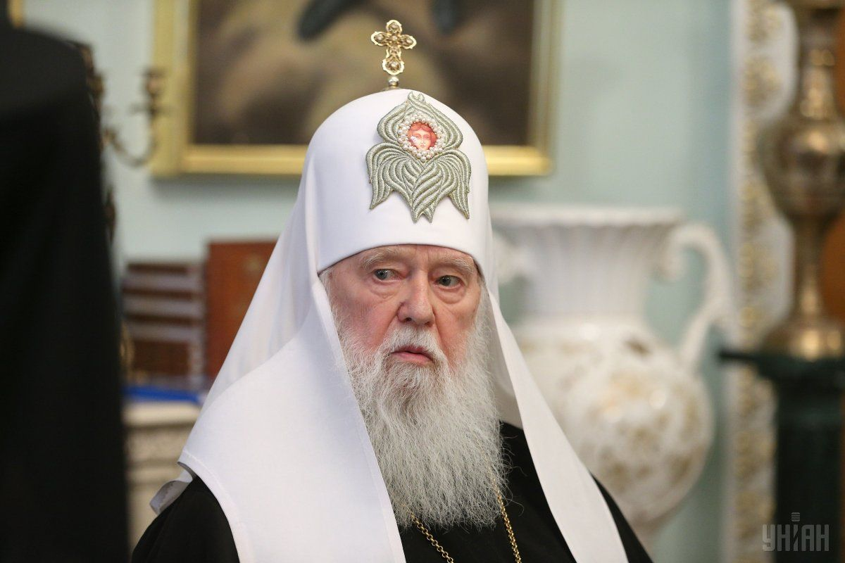 Honorary Patriarch of the Orthodox Church of Ukraine Filaret / Photo from UNIAN