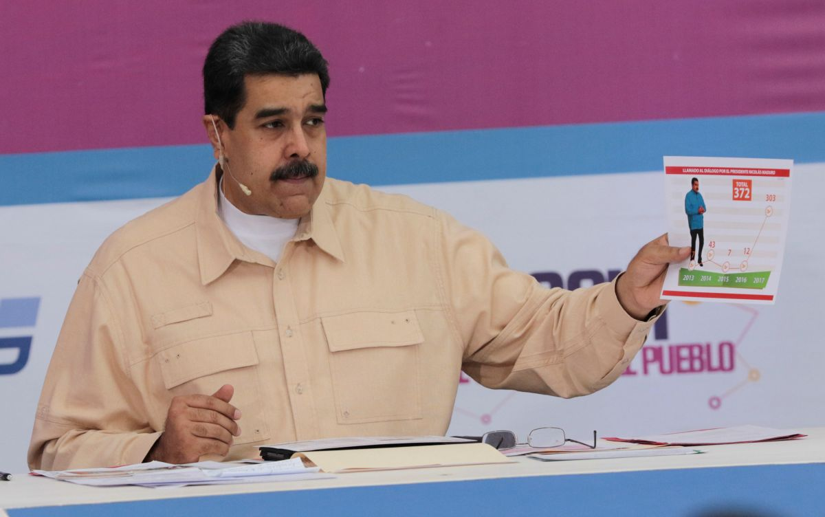 Президент Венесуэлы Николас Мадуро / REUTERS