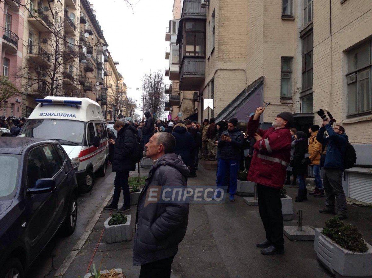 Обыски у Саакашвили / фото Эспрессо