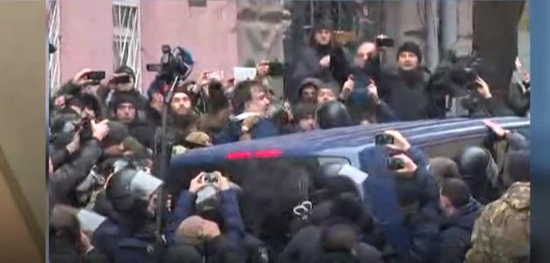 Задержание Саакашвили  Скриншот
