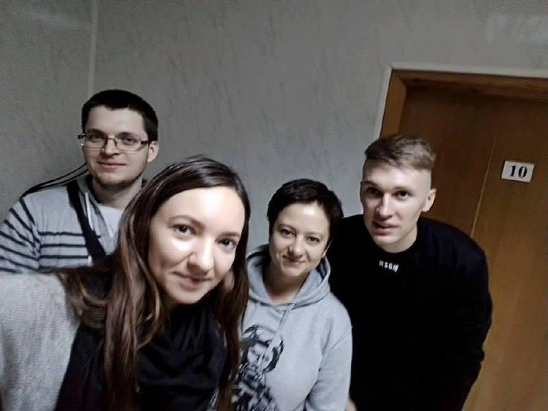 Сергій Сидорчук побував у військовому госпіталі / facebook.com/wbc.kyiv