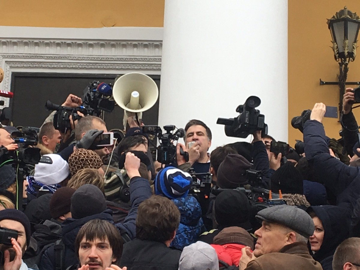 Саакашвили освободили из авто / фото УНИАН