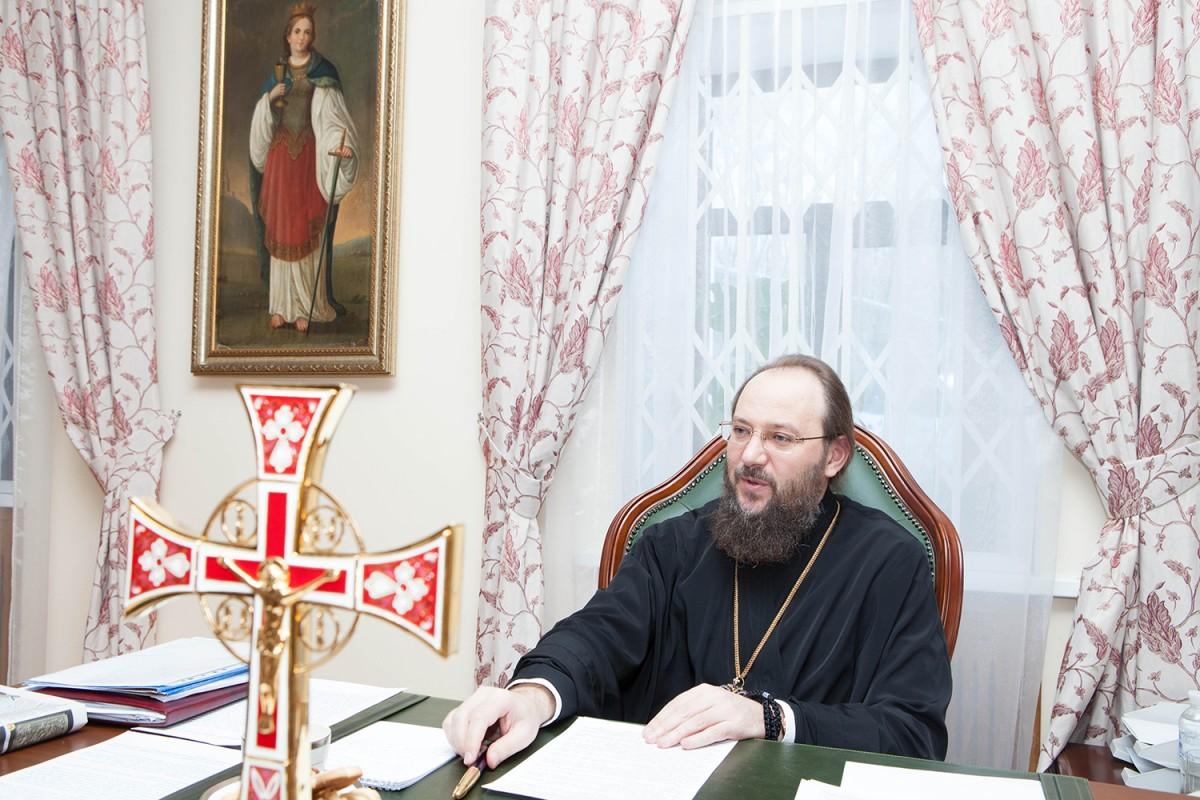 Управляющий делами Украинской Православной Церкви Митрополит Антоний Фото: Центр информации УПЦ