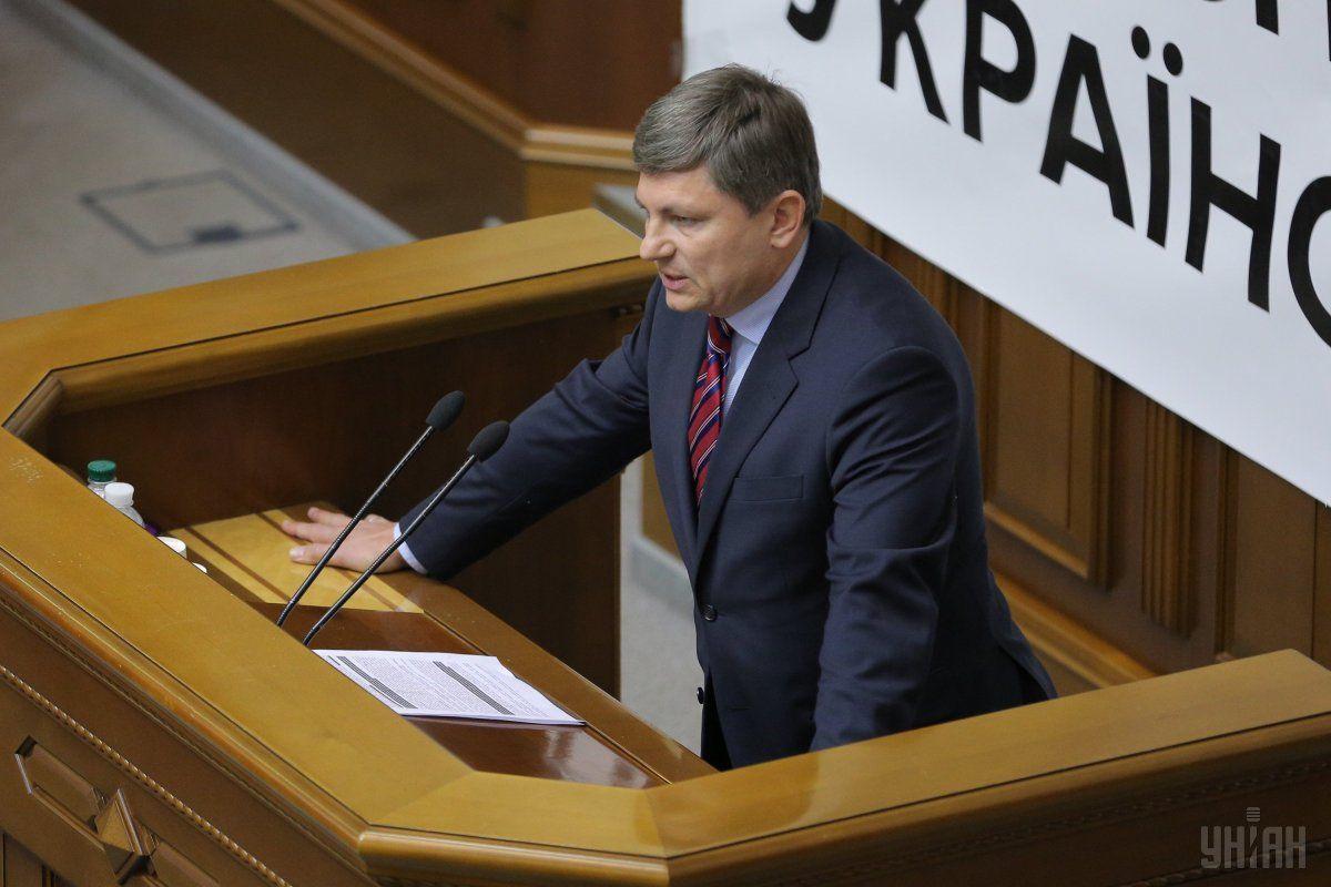 Герасимов в Раде пытался пристыдить депутатов, которые не голосовали за обновление состава ЦИК / фото УНИАН
