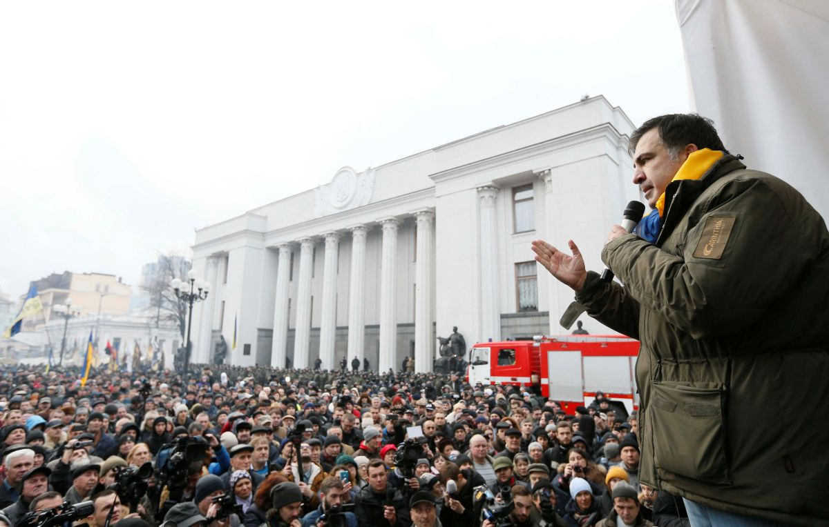 Міхеїл Саакашвілі / REUTERS