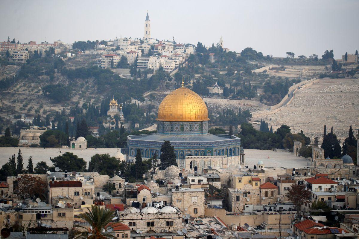 Вид на старый город Иерусалима / REUTERS